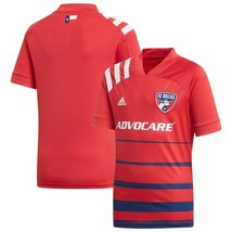 FC DALLAS SOCCER JERSEY-AUTHENTIC ADIDAS-ADULT LARGE & XL RETAIL $90 NWT - $39.98