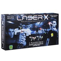Laser X 88016 Two Player Laser Gaming Set Real Life Experience, Play Teams - $81.00