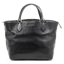 Black ONE SIZE Michael Kors Ladies Anabelle Large Leather Tote Handbag - $475.70