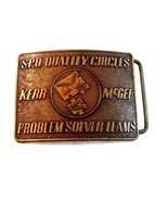 Vintage S. P.O.Qualità Circoli Problem Solver Squadre Kerr Mcgee - $97.00