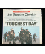 San Francisco Chronicle March 23 2003 Toughest Day Americans Captured Ne... - $39.98