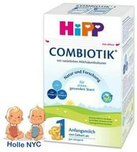 HiPP BIO Combiotic Stage 1 Organic Milk Formula FREE SHIPPING 04/2020 GE... - $32.95