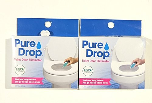 Pure Drop Toilet Odor Eliminator, 0.67 Fl Oz (Pack of 2)