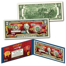 2019 CNY Lunar Chinese New YEAR OF THE PIG Polychromatic 8 Pigs $2 U.S B... - $13.81