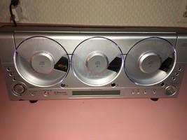 Emerson MS3105 Triple Cd Player Linear 3 Cd Am Fm Wall Mount Rare - $325.71