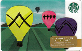 Starbucks 2014 Up, Up And Away Collectible Gift Card New No Value - $2.99