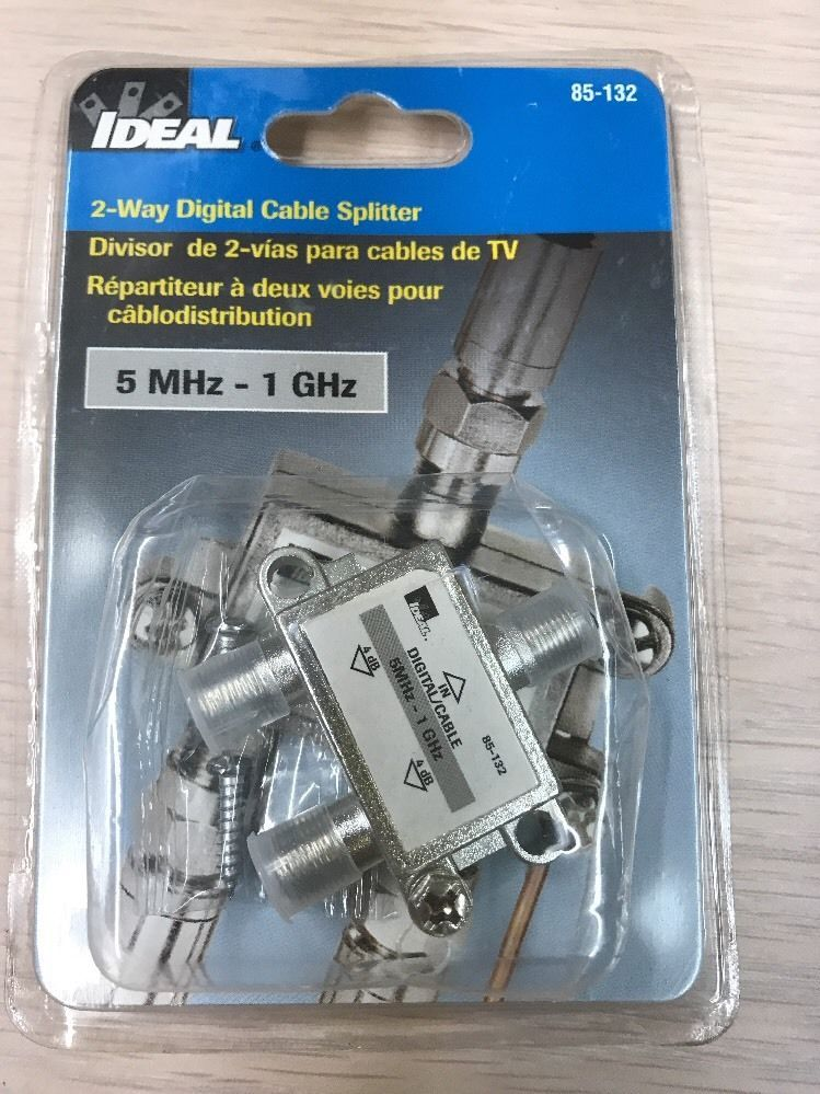 Ideal 2-Way Digital Cable Splitter, 1 GHz 85-133 AD2