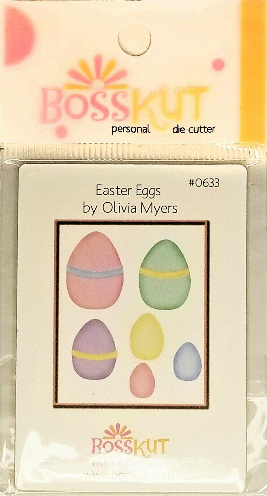 BossKut Easter Eggs Die #0633