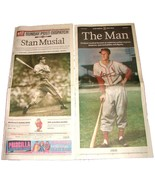 1.20.2013 St Louis POST-DISPATCH Newspaper Stan Musial Commemorative 4 S... - $19.99