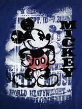 Walt Disney World Disneyland Mickey Mouse Wrestling T Shirt XL - $17.76