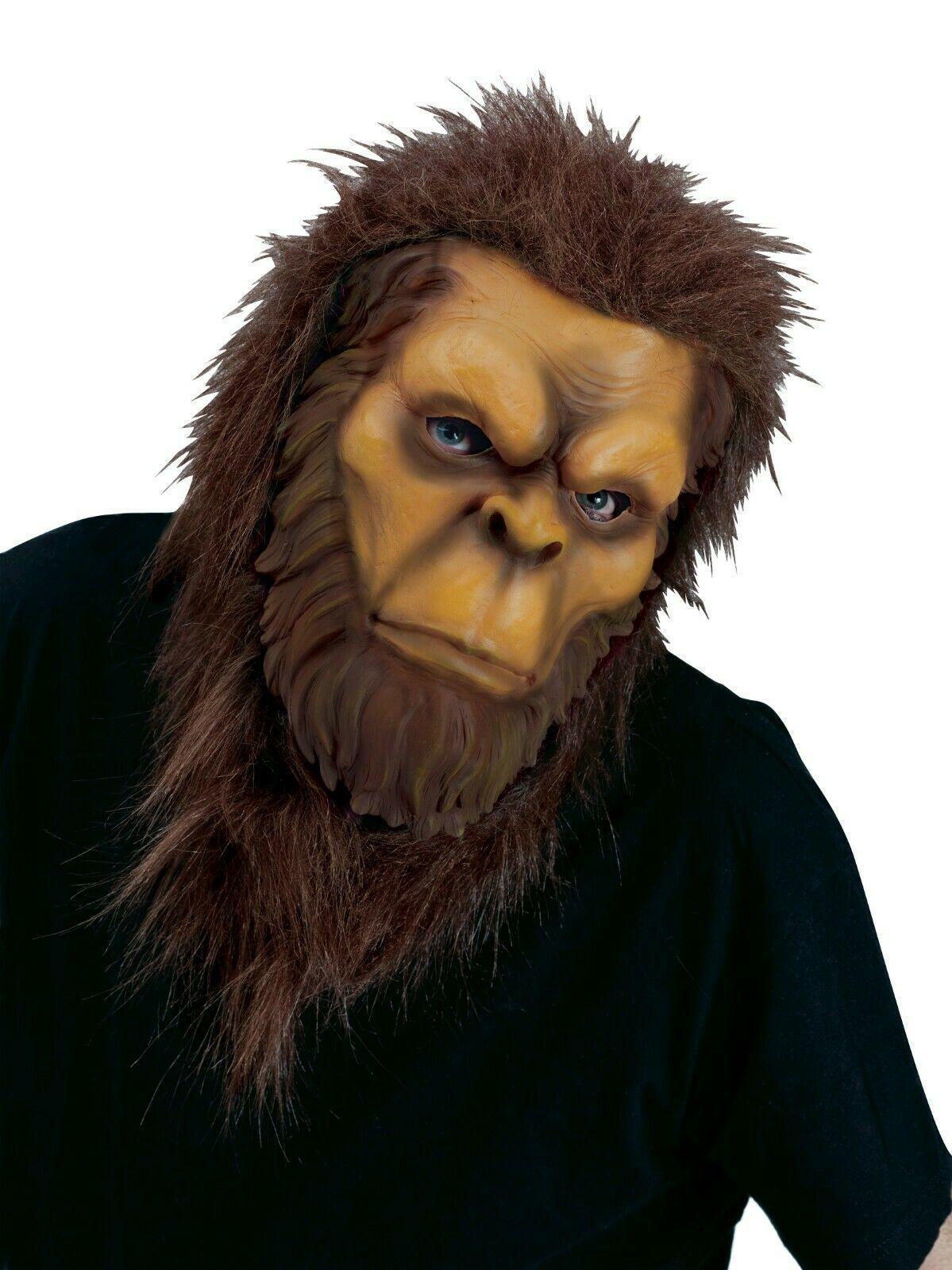 Fun World Big Foot Animal Mask Adult Unisex Halloween Costume Accessory 8546BF