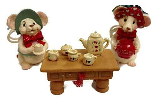 Merry Chrismouse Figurine by Kurt S Adler (Tea Time) - $19.80
