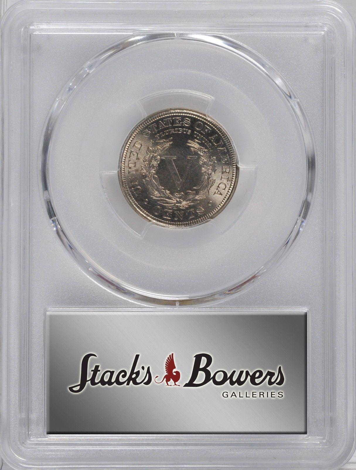 1900 Liberty Head Nickel - PCGS MS-66  - Mint State 66 - V Nickel image 4