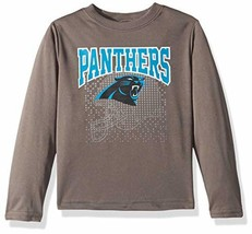 NFL Carolina Panthers Unisex Long-Sleeve Tee - Gray - 4T - $13.85