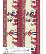 Only at Divine's, Merry Christmas Mouse, Mice, 2 Borders at 52 x 8 inches - $4.89