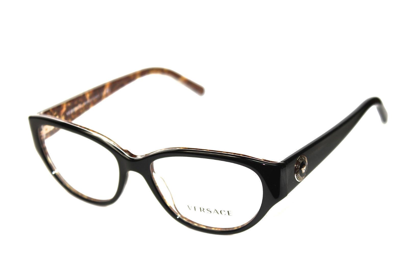 303f2acc04 3183 5082 Black Medusa Head Frames RX Eyelgasses 52mm - 90 -  61.69