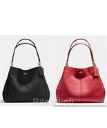 NWT! $395 Coach F57545 Lexy Shoulder Bag In Pebble Leather - $199.99
