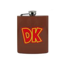 Donkey Kong Custom Flask Canteen Collectible Gift Nintendo Atari Video Games - $25.00