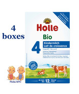 Holle stage 4 Organic Formula 05/2020, 600g, 4 BOXES, FREE SHIPPING - $98.95