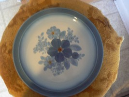Nikko dinner plate (Azure Floret) 7 available - $3.56