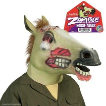 Zombie Horse Adult Halloween Latex Mask! - £7.39 GBP