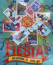 San Antonio Fiesta 2014 Poster 24 X 36 Inches Looks Beautiful - $19.94