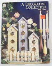 A Decorative Collection #3 Pattern Tole Craft Book Folk Art Primitive Pa... - $5.99