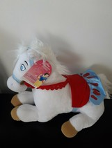 Disney Store Exclusive Princess Ponies Snow White Princess White Plush Stuffed - $32.43