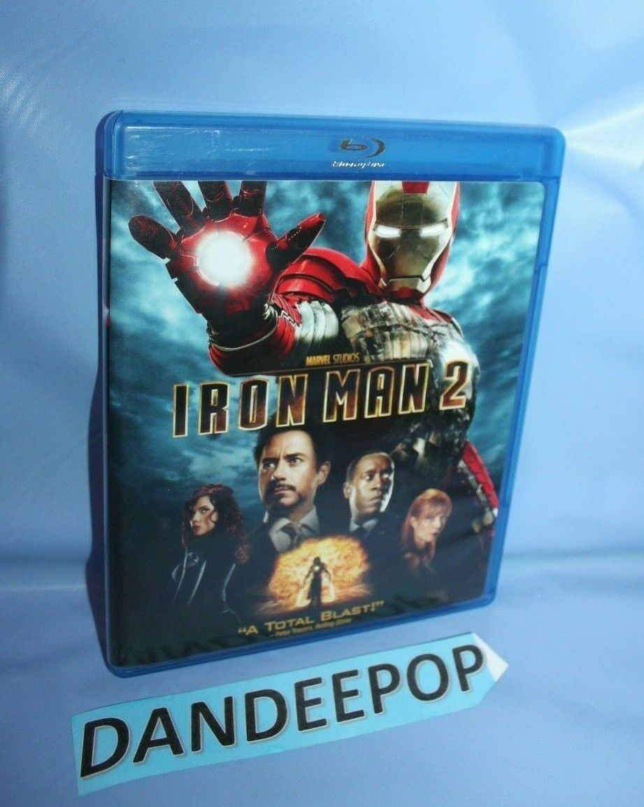 Primary image for Iron Man 2 (Blu-ray Disc, 2010)
