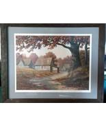 Jim Harrison Signed Print 308 of 1500 Shrine Circus Framed in Barn Sidin... - $70.00
