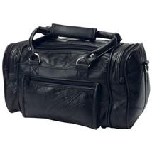 """Roadpro Plb-003 Black 12"""" Patchwork 'Leather-Like' Shave Kit Bag - $17.43"""
