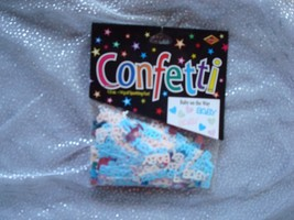 Gender Reveal Baby Shower Confetti; Gender Reveal Decorations; Table Con... - $4.95