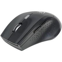 Manhattan Curve Wireless Optical Mouse (black) ICI179386 - $21.44