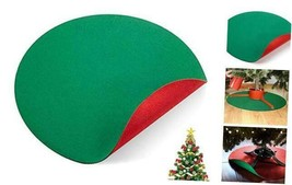 """42"""" Reversible Waterproof Christmas Tree Stand Mat Accessory for Floor ... - $36.37"""