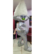 Guy Diamond Mascot Costume Adult Trolls Mascot Costume For Sale - $299.00