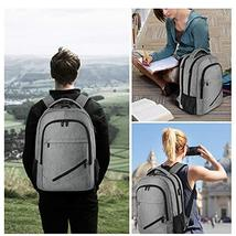 Laptop Backpack,Business Travel Slim Durable Laptops Backpack with USB Charging  image 7