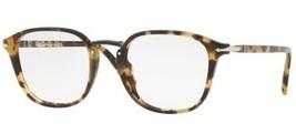 Persol PO3187V 1056 49MM Eyeglasses 1056 Havana Beige Tortoise  - $376.20