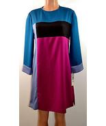 Eliza J  Color-Block  CDC  Dress  Multi-Color   Missy  Size  8 - $28.04