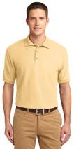 Port Authority K500ES Men Silk Touch Polo Shirt - Banana - €26,30 EUR+
