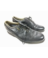 FootJoy Dryjoy Turfmasters Men's Golf Shoes Brogue Saddle Size 10 M Black - $29.95