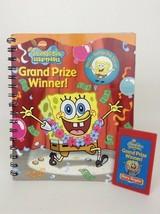 Story Reader Book with Cartridge Spongebob Squarepants Grand Prize Winner PI - $8.86