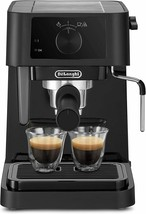 De'Longhi Stilosa Ec230.bk Coffee Maker Of Pump With 15 BAR Press 1100 W... - $418.38