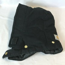 Carhartt Replacement Button Snap on Black Hood Quilt Lined  A02 Made in USA - $19.99