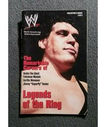 WWE Andre The Giant Mini Wrestling Magazine Legends Of The Ring - $14.84