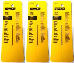 """DeWalt DW1314 7//32/"""" Titanium Coated Split Point Drill Bit USA 2PKS"""