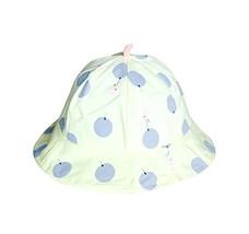 Yellow,Sun-resistant Pure Cotton Comfortable Ventilate Bucket Hat/Kid Cap image 2