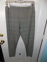 LuLaRoe Multi-Colored Chevron Leggings Size Tall and Curvy Women's NWOT - $24.92