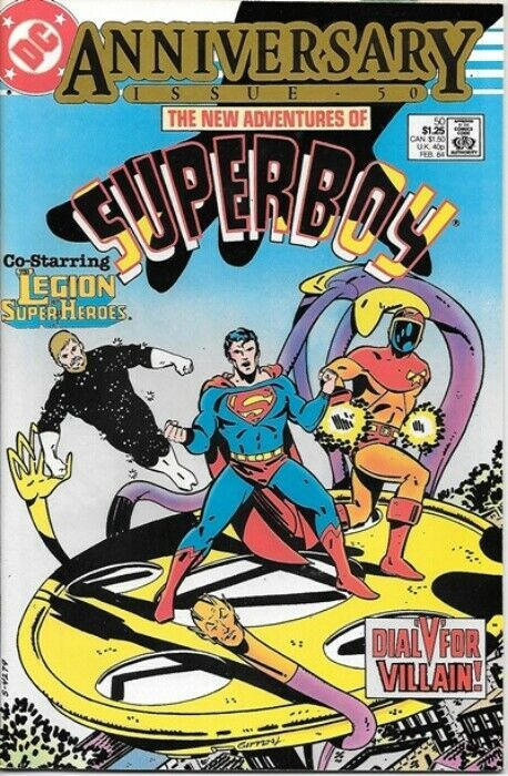 Primary image for The New Adventures of Superboy Comic Book #50 DC Comics 1984 VERY FINE-