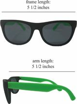 Neon Sunglasses (Pack 12) Assorted Cool Colors Neon Sunglasses Party Favors image 4
