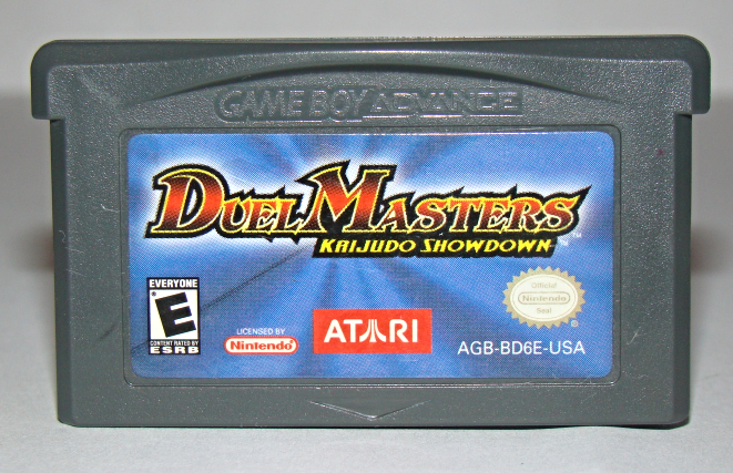 Nintendo GAME BOY ADVANCE - DUEL MASTERS KAIJUDO SHOWDOWN (Game Only)